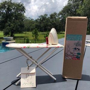 New Maileg Miniature Ironing Board and Iron Set